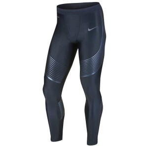 ナイキ メンズ インナー・下着 タイツ・スパッツ【Nike Dri-FIT Run Speed Tights】Midnight Navy/Iridescent/Reflective Silver