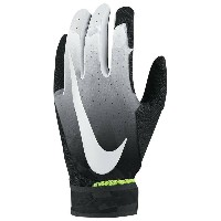 ナイキ メンズ 野球 グローブ【Nike Vapor Elite Batting Gloves】White/Anthracite/Black