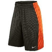ナイキ メンズ バスケットボール スポーツ Men's Nike Elite Powerup Shorts Sequoia/Bright Citrus/Team Orange/Metallic...