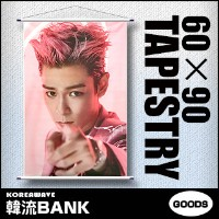 T.O.P (トップ) BIGBANG (ビッグバン) 大型 タペストリー A (LARGE TAPESTRY A) 90cm x 60cm SIZE グッズ