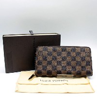 【LOUIS VUITTON】ルイ・ヴィトン ダミエ ジッピーウォレットN60015【新品・未使用】