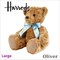 ハロッズ (harrods) テディベアー,Harrods Large Oliver Bear,