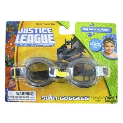 Justice League Swim Goggles – DC Comics Justice League Unlimited Kidゴーグル