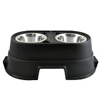 8 Inch Healthy Pet Diner - Black - SFL08BLK