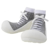 Baby feet Sneakers-Gray スニーカーズグレー (11.5cm)