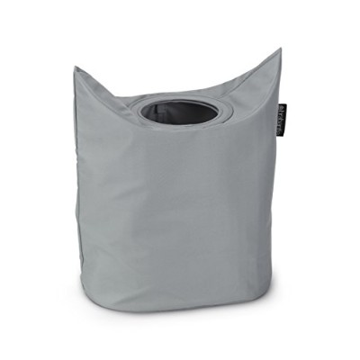 Brabantia Portable Laundry Basket and Bag - Grey by Brabantia
