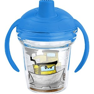 Tervis Just Dozin Sippy Cup with Lid、6オンス、クリア