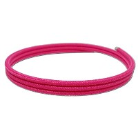 ULTRA COLOR 磁気ネックレス 2mm レーヨン (Pink)
