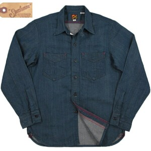 MFSCMister Freedom×Sugar Cane/ミスターフリーダム×シュガーケーン Made in U.S.A. NOS 8oz DENIM SPORTSMAN RANGER SHIRT...