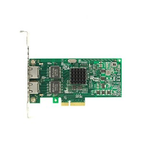 HiRO H50312 Intel I350 PCIe PCI Express PCI-E x4 Dual Port 2x Gigabit Ethernet Server Adapter Windows Server 2012 2008 2003 R2 10 8.1 8 7 Vista XP