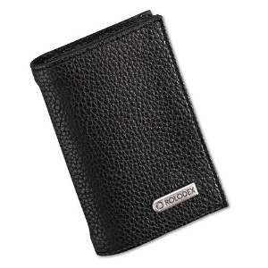 Low Profile Personal Card Case, 36-Card Capacity, 2 3/4 x 4, Black (並行輸入品)