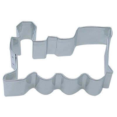 R&M Locomotive 3 Cookie Cutter Stainless Steel in Durable, Gleaming, Polished Stainless Steel by...