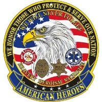 American Heroes Sign, We Will Never Forget, Bravery, Heroism, Sacrifice by EE, Inc.