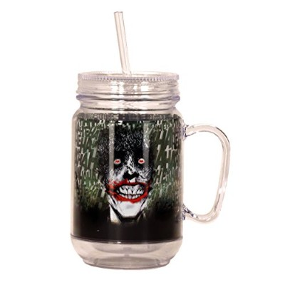 Spoontiques 17984 Joker Mason Jar, Multicolor