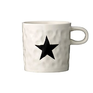 Bloomingville Ceramic Mug with Star、マルチカラー