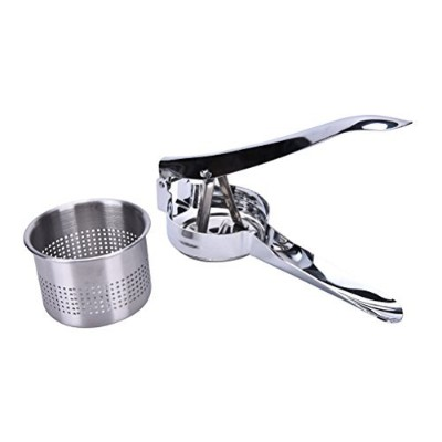 CoscosX Potato Masher Ricer Mashed Stainless Steel Food Fruit Vegetable Press by CoscosX