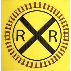 Railroad Train Party Lunch Napkins – 16パック