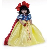 "Linda Rick The Doll Maker Snow White (白雪姫) Porcelain 24"" Doll ドール 人形 フィギュア"