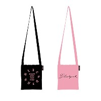 【YG公式】(7/24発売)BLACKPINK [SQUARE] BLACKPINK CROSS BAG クロースバッグ (BLACK)