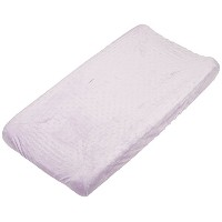 Rumble Tuff Minky Dot Changing Pad Cover, Lavender,Compact by Rumble Tuff