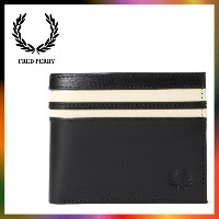 FRED PERRY フレッドペリー CUT & SEW TIPPED BILLFOLD & COIN WALLET L1218 ウォレット 財布