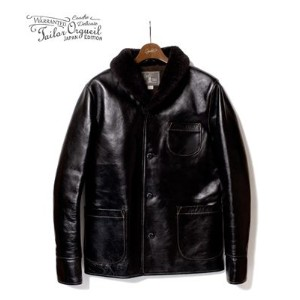 ORGUEIL オルゲイユ ホースハイド|レザーカーコート『Horse Leather Car Coat』【アメカジ・ワーク】OR-4014(Leather jacket)