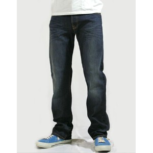 【SALE】Nudie Jeans(ヌーディー・ジーンズ)Average Joe Straight Leg Dark Organic Used 【送料無料】