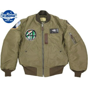 "BUZZ RICKSON'S/バズリクソンズ Jacket, Flying, Intermediate Type B-15C OLIVE(MOD.)""B.RICKSON MFG. CO.""1951..."
