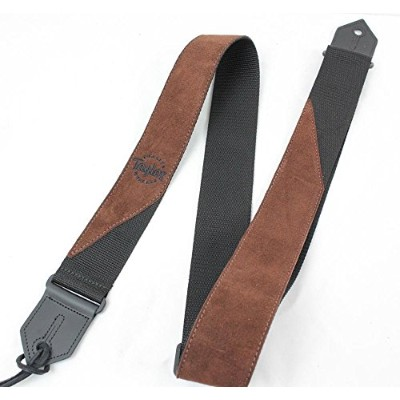 Taylor Suede-Poly Strap Brown 65123 ギターストラップ
