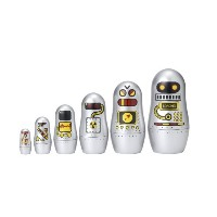 Robot Russian Matryoshka Dolls