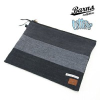 【2017FW】BARNS OUTFITTERS×LETTERS バーンズアウトフィッターズ×レターズ CLUTCH BAG[BR-7227]