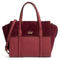 Kate Spade ケイトスペード ダニエルズ ドライブ スエード スモール アビゲイル ハンドバッグ Daniels Drive Suede Small Abigail 正規輸入品□