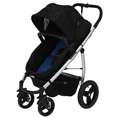 PHIL&TEDS [ フィル&テッズ ] smart lux compact stroller (buggy) コバルト SMLUX_V1_3_200_USA ベビーカー [並行輸入品]