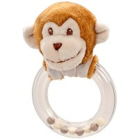 Monkey Ring Rattle By Douglas by Douglas Cuddle Toy