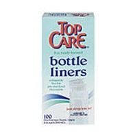 TopCare Baby - 8 Oz. Bottle Liners (100 Ct.) by Top Care