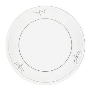 La Rochere Set Of 6, 7.5-inch Dragonfly Dessert Plates by La Rochre