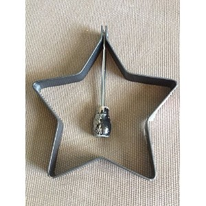 The Pampered Chef Star Pancake Mold