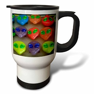 3drose Danita Delimont – New Mexico – Alien Headリングfor sale、Roswell , New Mexico – us32 jmr0112 – Julien McRoberts – 旅行マグ 14oz Travel Mug ホワイト tm_92636_1