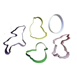 Eddingtons Springtime Cookie Cutters、5のセット