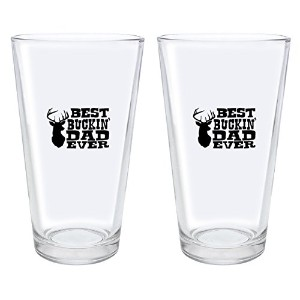 DadギフトBest Buckin ' Dad EverギフトPint Glass A-P-PD-16PG-0015-02