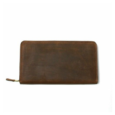 SETTLER[セトラー]-OW1760- Clutch Purse (brown)