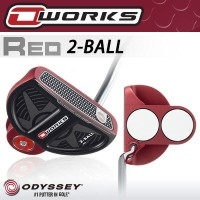 ODYSSEY [オデッセイ] O-WORKS RED 2-BALL パター 【日本正規品】