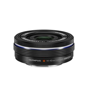 【中古】【1年保証】【美品】 OLYMPUS M.ZUIKO DIGITAL ED 14-42mm F3.5-5.6 EZ ブラック