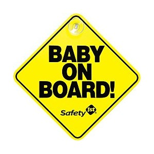Safety 1st Baby On Board Sign, by Safety 1st