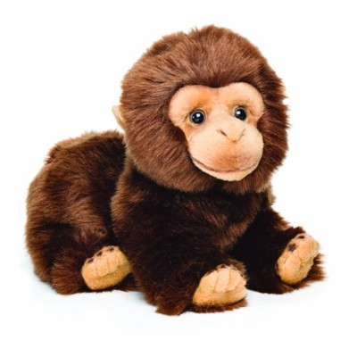 Nat and Jules Chimpanzee Plush Toy, Small by Nat and Jules