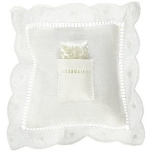 Child to Cherish Tooth Fairy-Pillow with Fairy Dust, White by Child to Cherish
