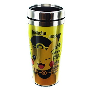 Pokemon Pikachu Travel Mug withメタル蓋