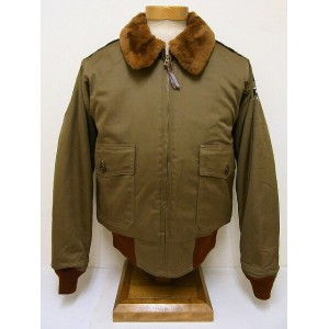 BuzzRickson's[バズリクソンズ] B-10 BR11134 赤リブ SUPERIOR TOGS (OLIVE DRAB) 送料無料 代引き手数料無料 【RCP】