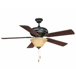Savoy House 52P-614-5WA-13 Peachtree 52 Ceiling Fan, English Bronze by Savoy House