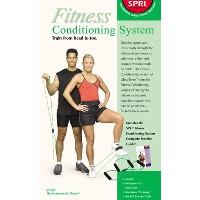 SPRI fcs-lbr Fitness ConditioningシステムXering and Ultraトナー(ライト抵抗)